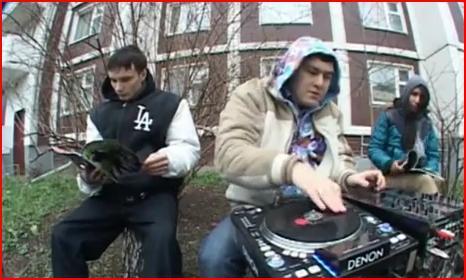 Видео со съёмок клипа YG & J Roz 1