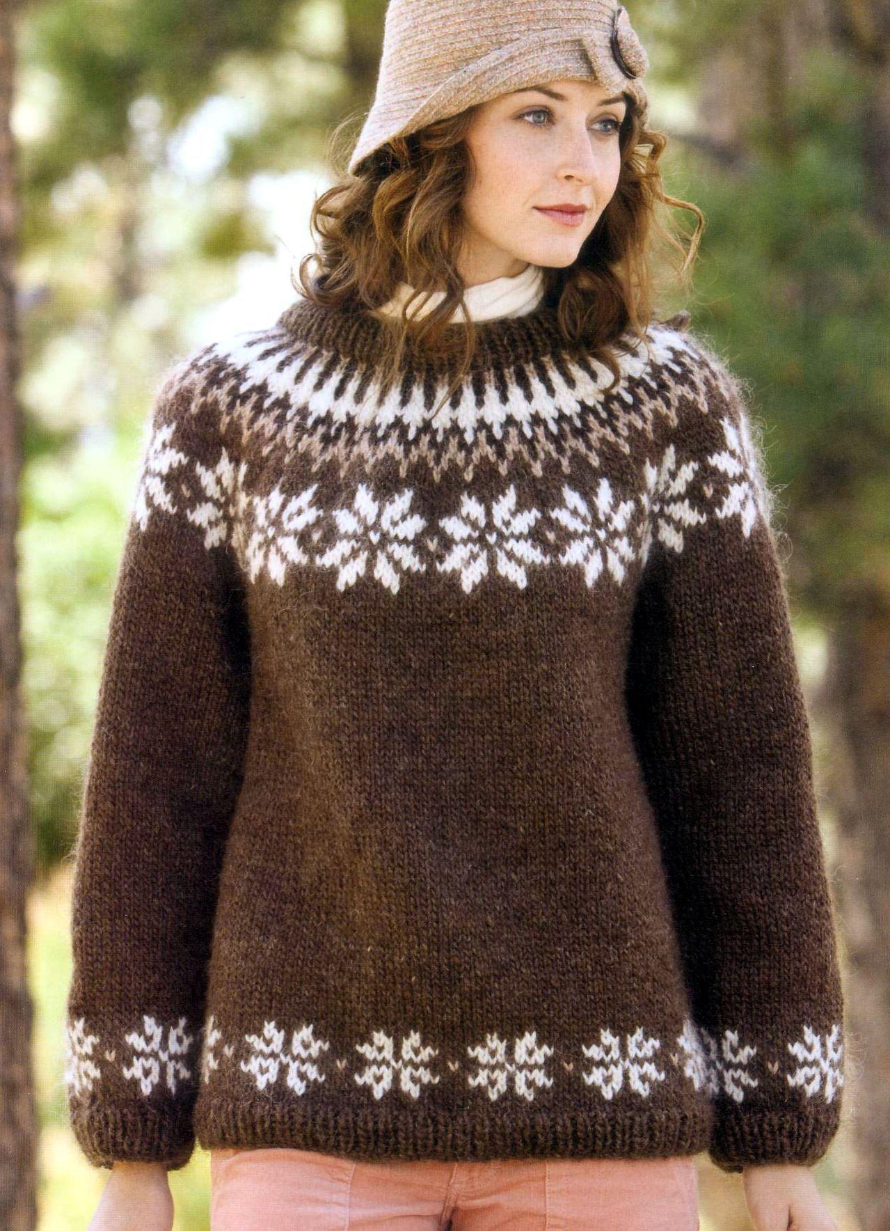 Вязание спицами скандинавские узоры свитера