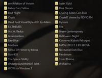 Сборник тем для Windows 7 :34 шт самые новые x86+x64 (2010)