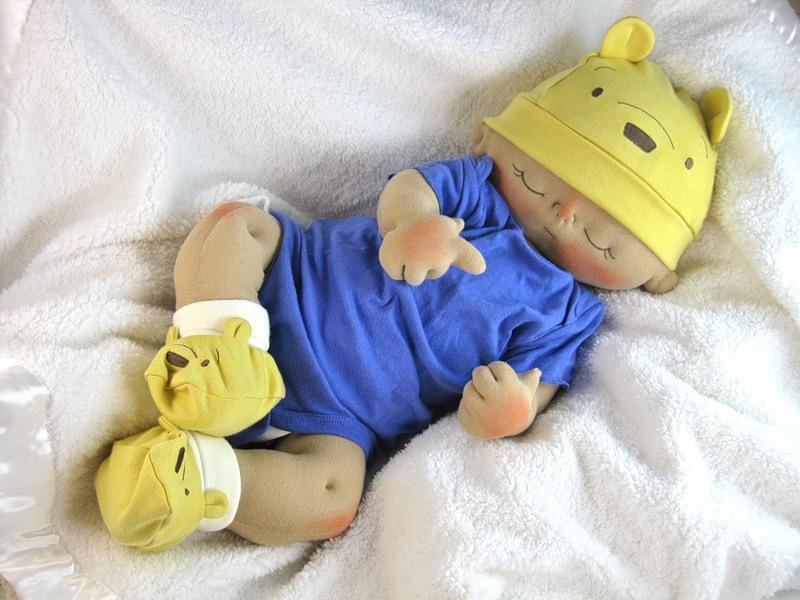 Куклу младенца сделать своими руками