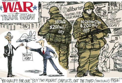 Стоимость войны в Ираке, Афганистане, Ливии