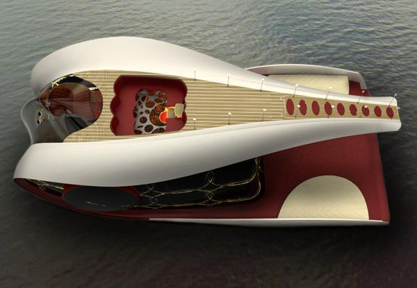 Яхта Dreamboat
