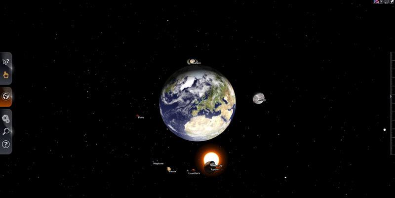 вас с Солнечной системой.