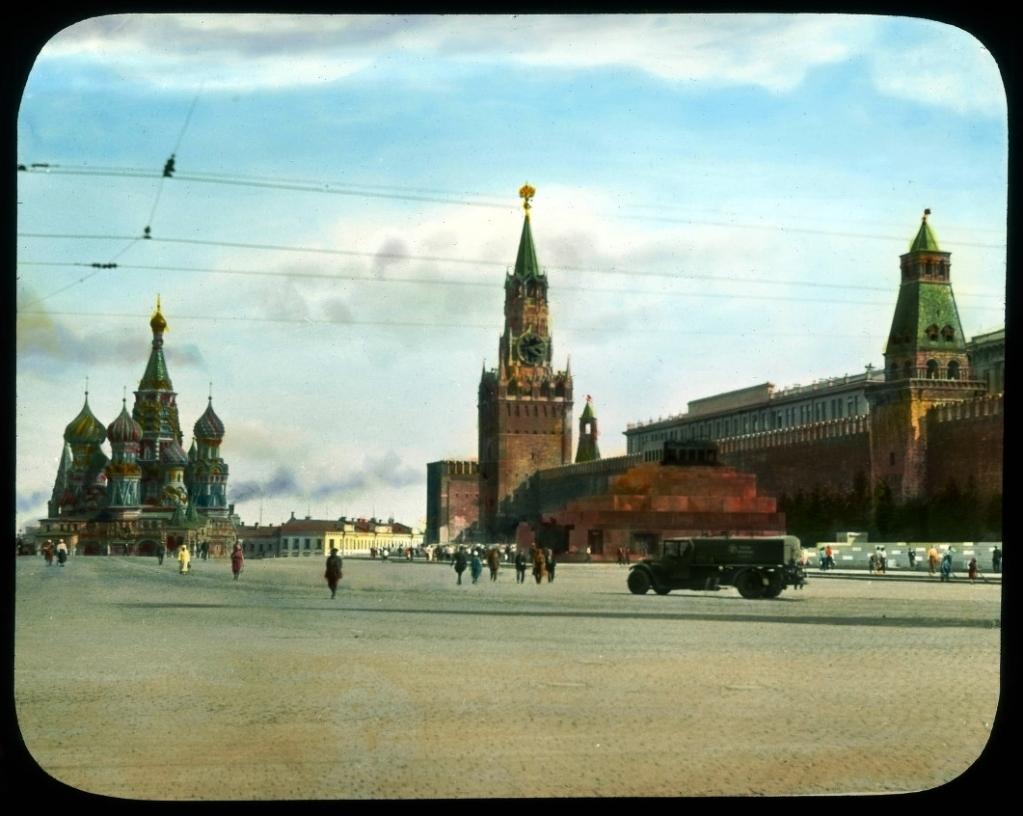 Фото Москвы, Красная Площадь, 1931 год