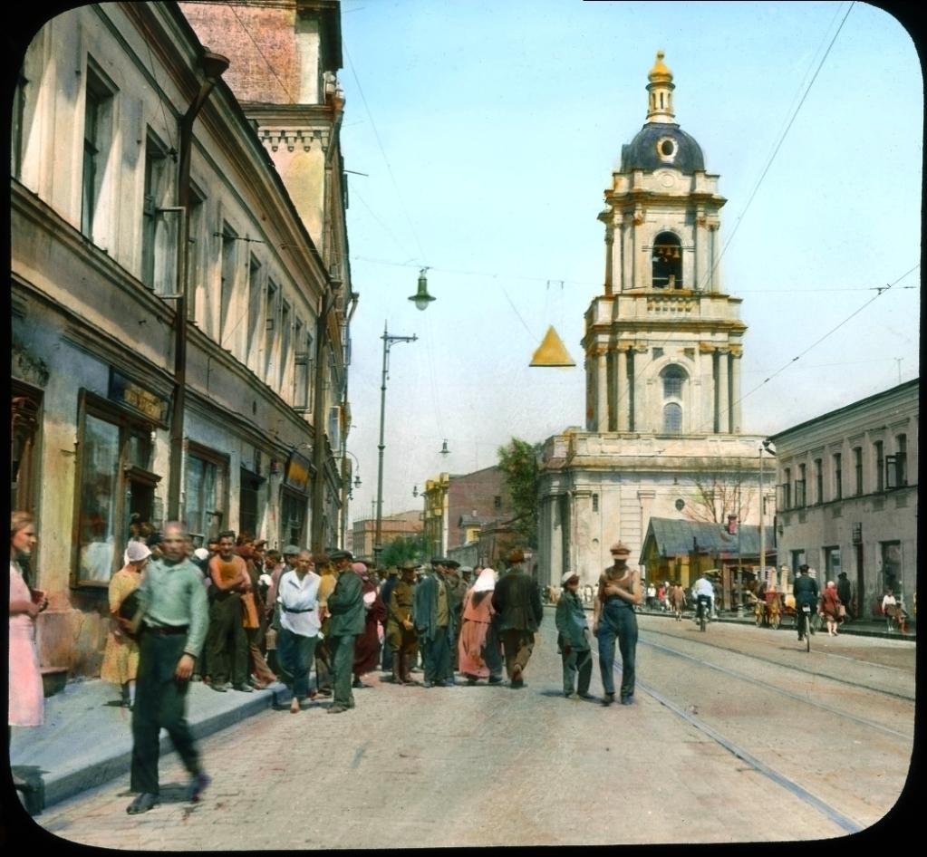 Фото Москвы, Церкви, 1931 год