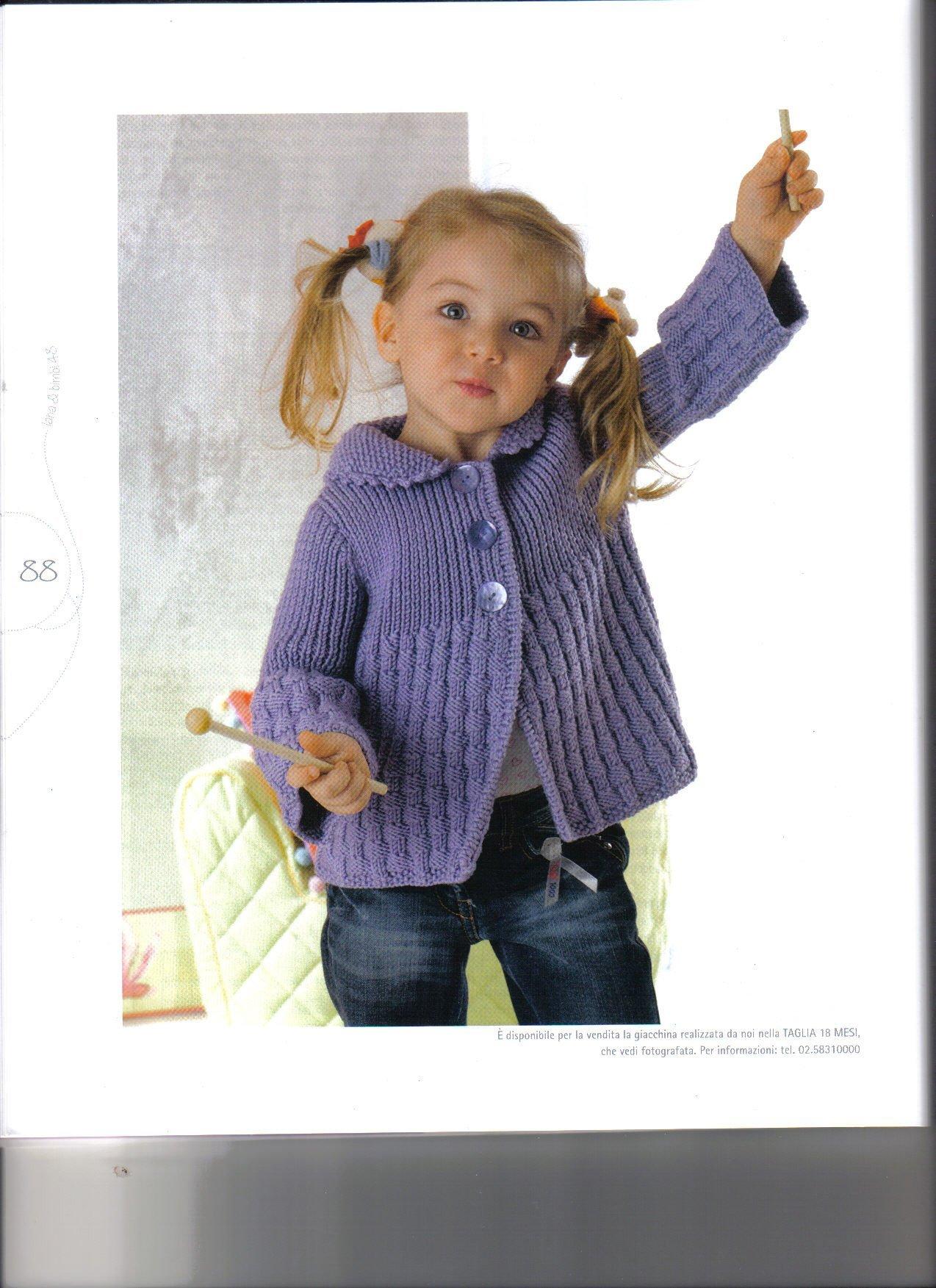 Вязание для девочек спицами и крючком, модели с описанием и 12