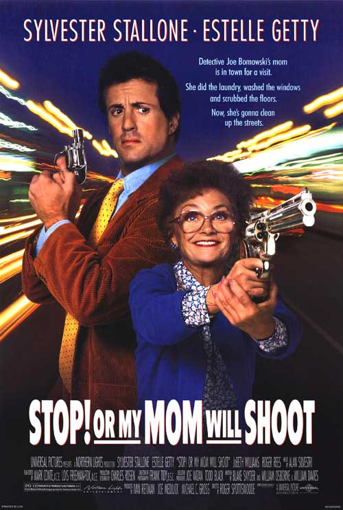 ����! � �� ���� ����� �������� / Stop! Or my mom will shoot (������ ����������) [1992 �., ���������� ������, DVDRip] ������� ������� ��������