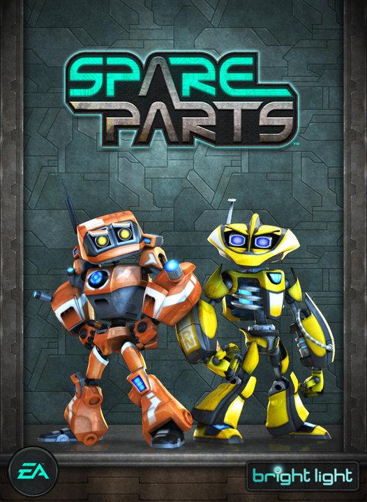 [ARCADE]Spare Parts [Region Free / ENG]