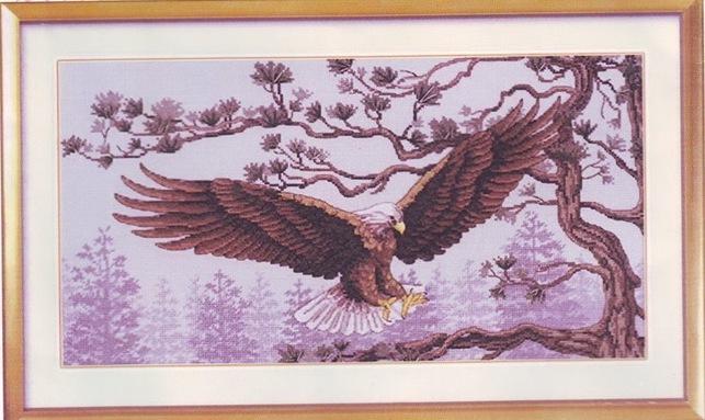 Орел. схемы для вышивки