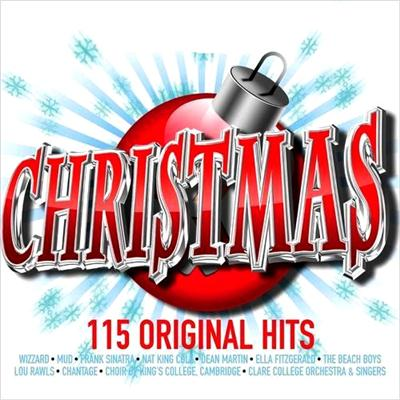 Christmas. 115 Original Hits [6CD Boxset] (2009)