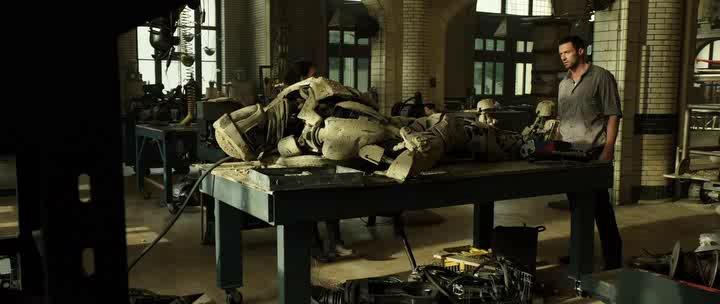 Живая сталь / Real Steel (2011) HDRip